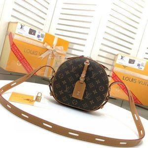 💯Louis Vuitton Monogram Sologne Should345080
